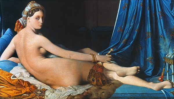 By Jean Auguste Dominique Ingres