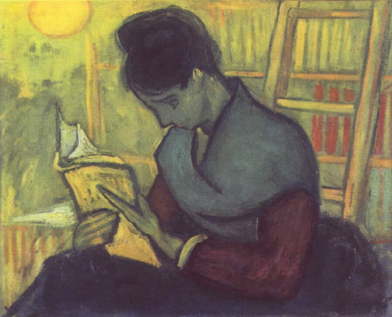 Me reading your comments, ala Vincent Van Gogh