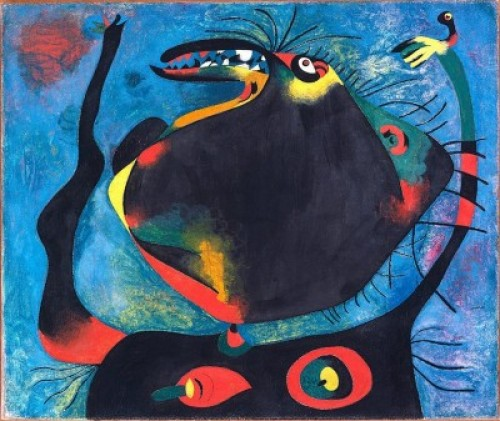 Stephanie, as envisioned by the artist Joan Miro