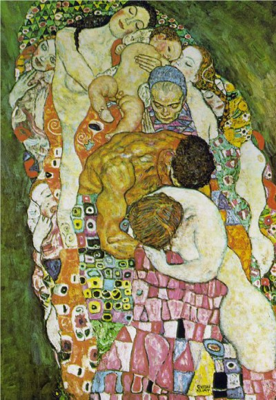 Gustav Klimt Death and Life detail