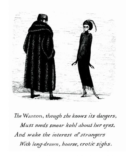 work of edward gorey
