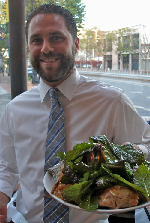 Julien and the Zuni Cafe chicken