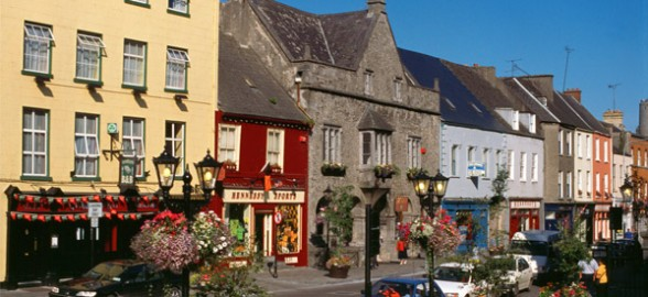 The streets of Kilkenny